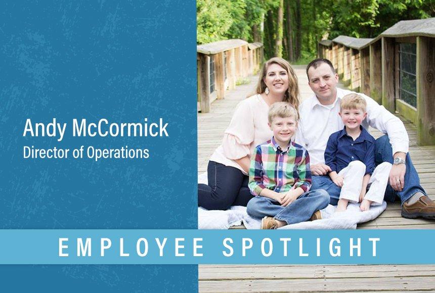 DWG Employee Spotlight   Andy McCormick