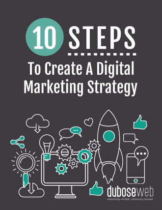 10 Steps to Create a Digital Marketing Strategy Cover