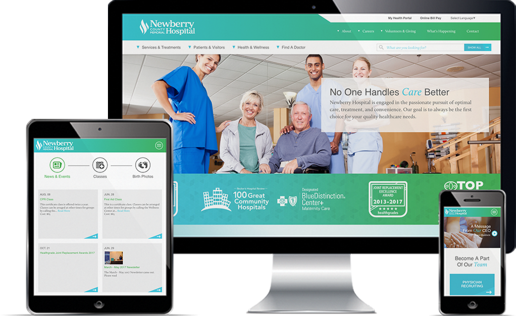 Newberry Hospital deliverables