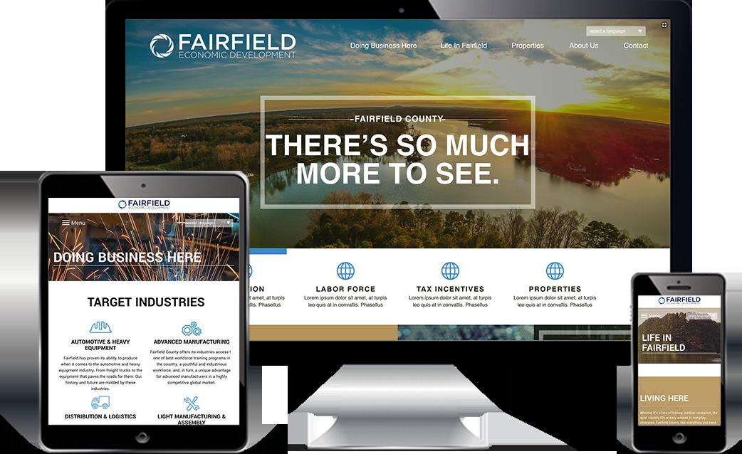 Fairfield Economic Development deliverables