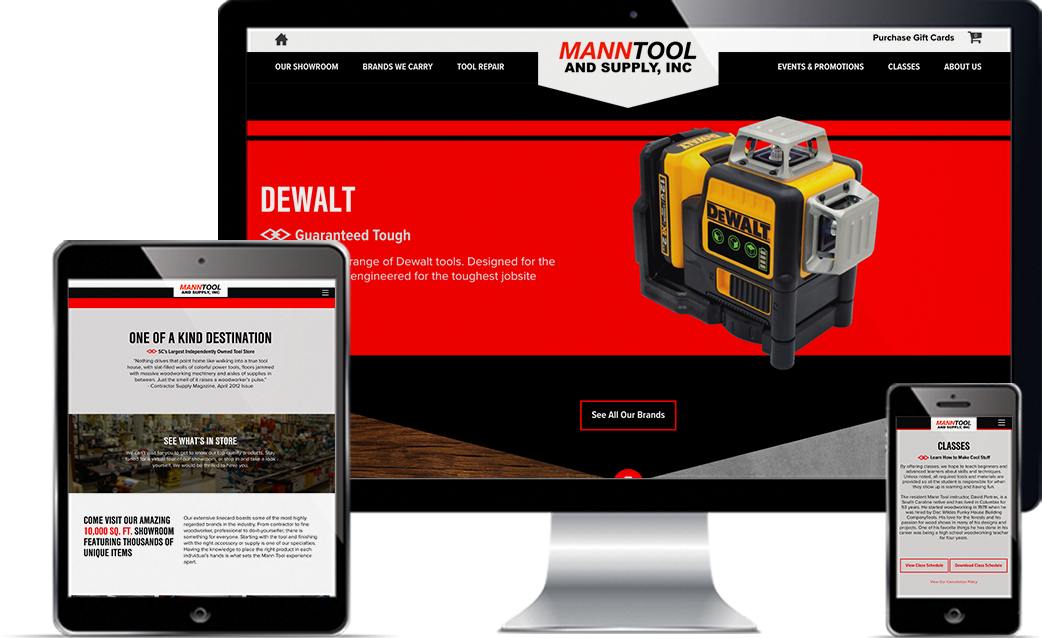 Mann Tool and Supply deliverables